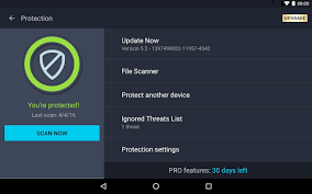 avg pro apk avg antivirus free for android security 2017 mod apk