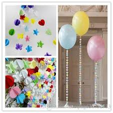 2018 2m colorful paper garland dot flower paper banner