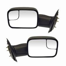 dodge ram tow mirror glass replacement dodge ram towing mirrors flip up mirror at auto parts