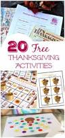 20 free thanksgiving printable activities edventures with kids