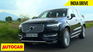 volvo truck price in india volvo xc90 inscription india drive autocar india youtube