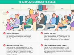 airplane etiquette rules business insider