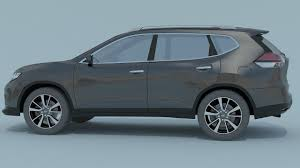 nissan x trail 2016 3d model cgtrader