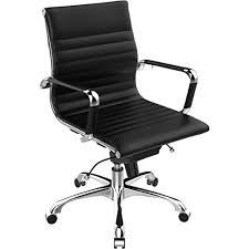 mid century office chair amazon com