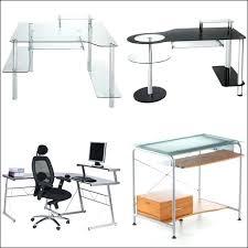bureau ordinateur en verre bureau ordinateur en verre bureau pas bureau informatique en verre