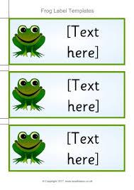 frog themed classroom printables sparklebox