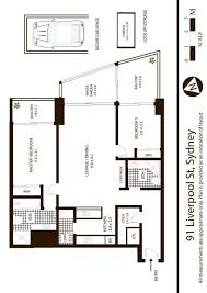 floor plans sydney sydney cove property 93 liverpool street sydney
