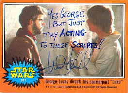 wars cards hamill s hilarious autographed wars cards heavy metal