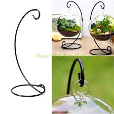 Vase Holders 12 Inch Without Vase Flower Plant Stand Hanging Hydroponic Home