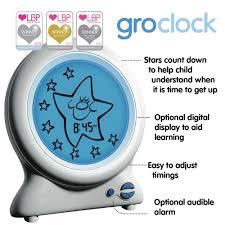gro clock gro company childs toddler sleep trainer nursery night