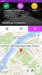 wedding invitations app wedding invitation card maker for android free and