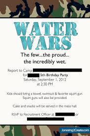 water wars the ultimate army water birthday party jonesing2create