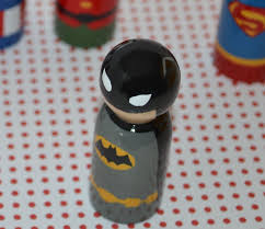 nap time crafts superhero peg people