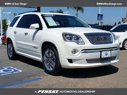 lexus san diego specials 2012 used gmc acadia fwd 4dr denali at bmw north scottsdale