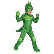 pj masks boys u0027 gekko deluxe toddler costume target