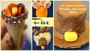 thanksgiving cookies and treats no bake thanksgiving cookies