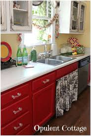 Discontinued Kitchen Cabinets Kitchen Glossy Red Kitchen Cabinets I Like The Red Kitchen Ikea