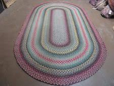 American Made Braided Rugs Braided Oval Antique Rugs U0026 Carpets Ebay