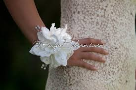 orchid wrist corsage winter wrist corsage