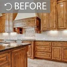 how to paint golden oak kitchen cabinets kitchen painting projects before and after paper moon painting