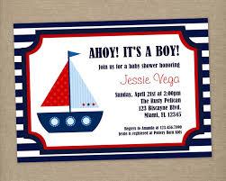 nautical themed baby shower invitations marialonghi com