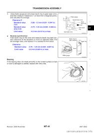 nissan armada manual transmission nissan 350z 2007 z33 manual transmission workshop manual