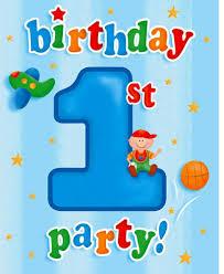1st Birthday Invitation Card For Baby Boy Fun At One Boys Happy First Birthday Party Supplies Birthday Wikii