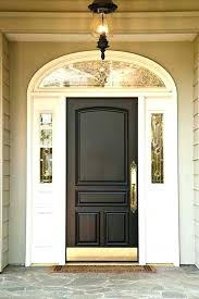 Exterior Door Kick Plate Brass Kick Plates For Front Doors Attractive Plate Door Hfer