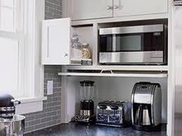 kitchen kitchen appliance storage and 15 kitchen garage cabinet