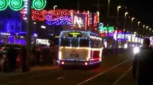 blackpool night time trams boat ship and train youtube