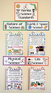 3rd grade florida science standards i can statements full page