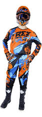 motocross gear fox helmet gloves goggles dot fox falcon kids hc navy white fox