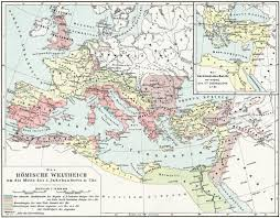 Roman Map Map Of The Roman Empire 2nd Century Ad Publication Of The Book