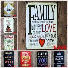 Cafe Home Decor Aliexpress Com Buy 5pcs Lot Bar Poster Decorative Plates Vintage
