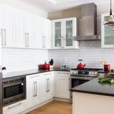 Red Black White Kitchen - photos hgtv