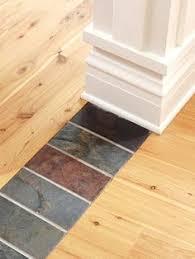 hardwood floors borders between rooms floor runs the other
