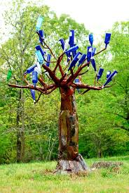 Cool Tree by 202 Best Bottle Trees And Bottle Garden Art Images On Pinterest
