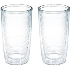 tervis 4 pack tumbler 16 ounce clear tumblers