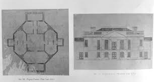 Poplar Forest Floor Plan Poplar Forest Building Note On Slide Drawings Thomas Jefferson