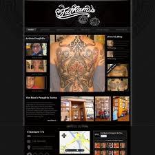 web design wanted for fat ram u0027s pumpkin tattoo web page design