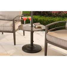 Umbrella Side Table Shademobile Rolling Umbrella Base With Table Shelf Free Shipping
