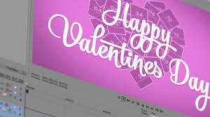valentine u0027s day vegas pro template