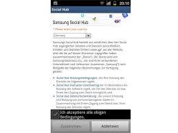 samsung si e social samsung galaxy s2 design und funktionen bilder screenshots
