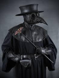plague doctor halloween costume jackdaw leather plague doctor mask