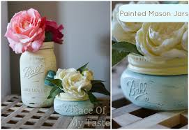 jar vases diy painted jar vases place of my taste