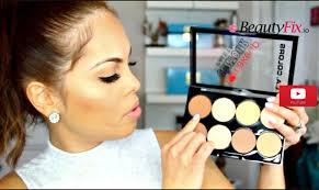 makeup review l a colors contour kit dupe for anastasia