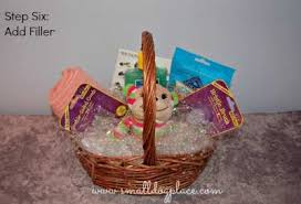 gift basket paper shred puppy gift baskets how to make your own
