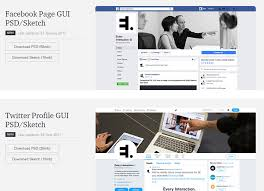 free profile gui psds for social networking sites hongkiat