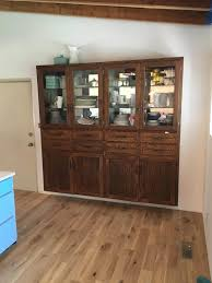 remodelaholic dining room hutch makeover painting furniture