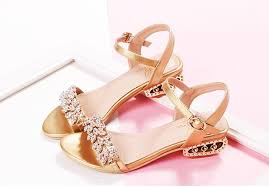 wedding shoes monsoon 2015 summer new leather flat sandals with diamond wedding